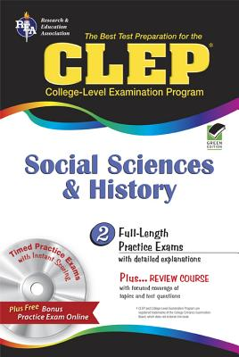 CLEP Social Sciences and History By Dittloff, Scott, Ph.D.